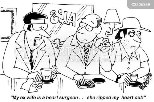 heartache cartoon