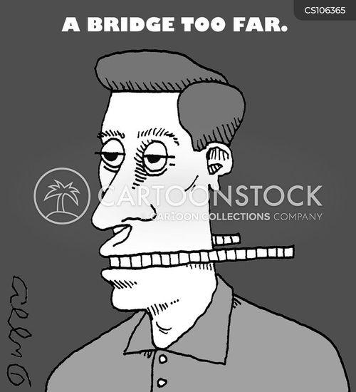 bridging cartoon
