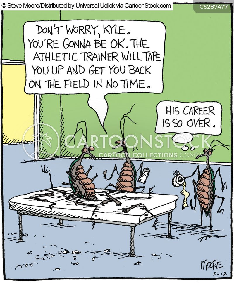 Career Ending Injuries cartoons, Career Ending Injuries cartoon, funny, Career Ending Injuries picture, Career Ending Injuries pictures, Career Ending Injuries image, Career Ending Injuries images, Career Ending Injuries illustration, Career Ending Injuries illustrations