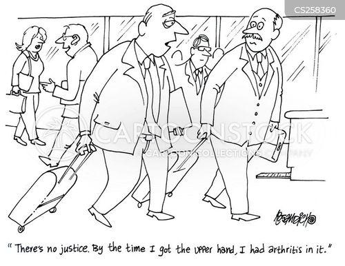 elderliness cartoon