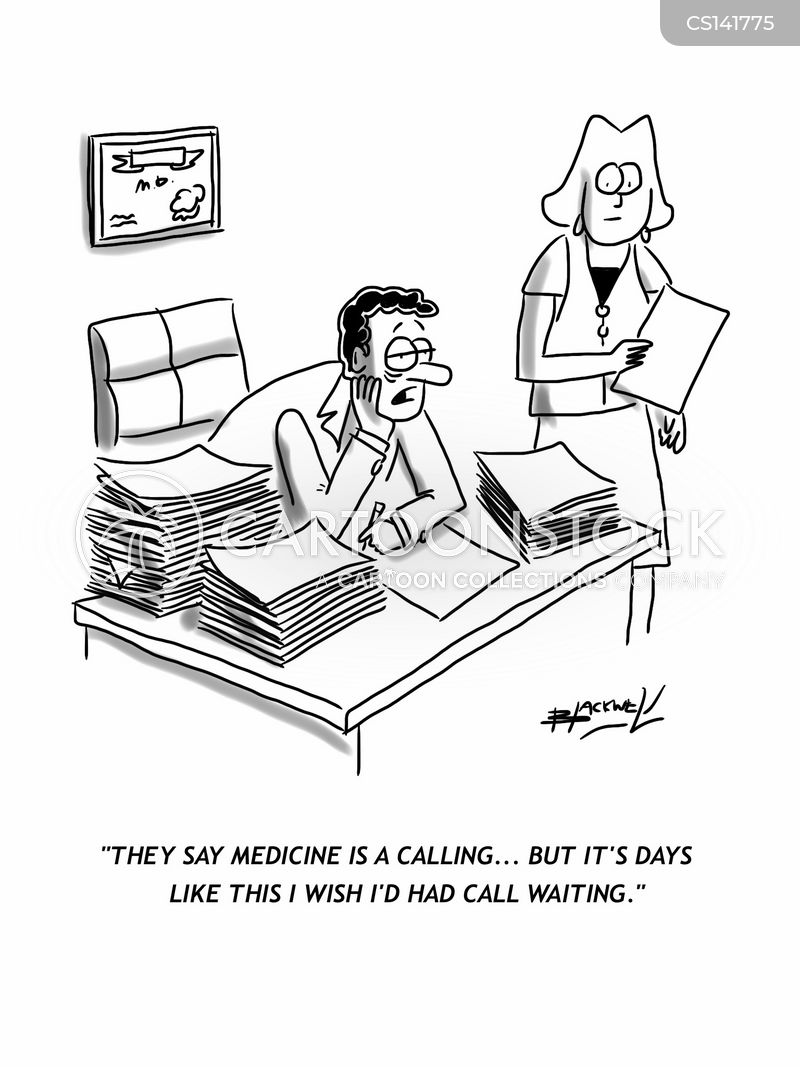 callings cartoon