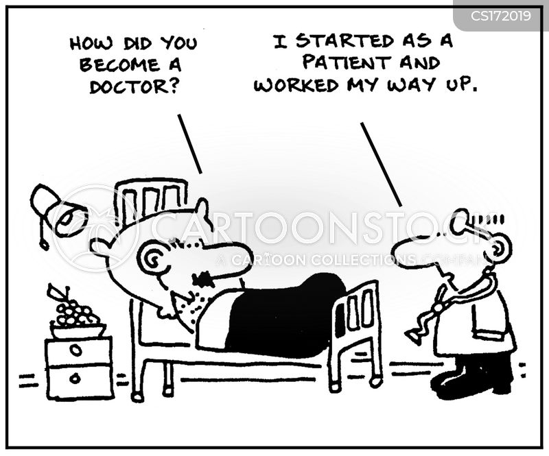 medical school cartoon