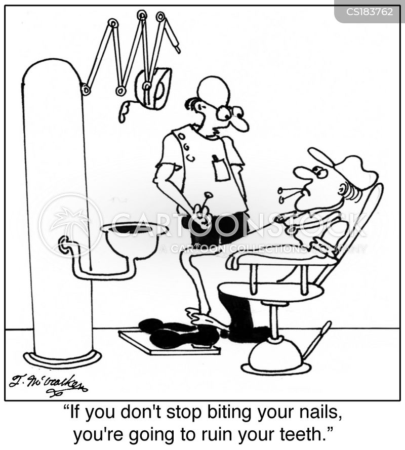 nails cartoon