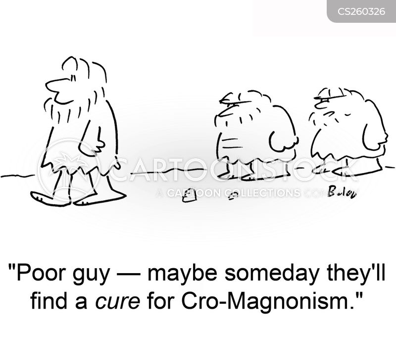 cro-magnon cartoon