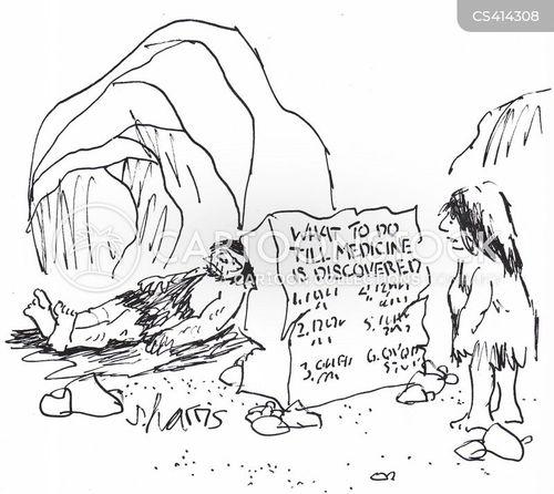 medical discoveries cartoon