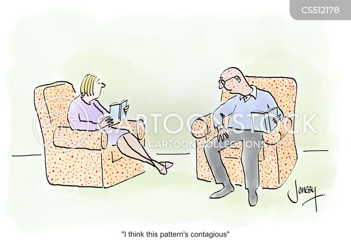 comfy chair cartoon