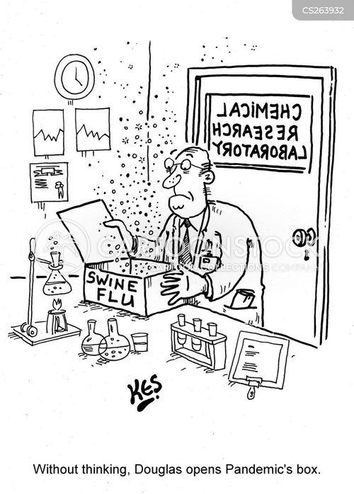 tamiflu cartoon