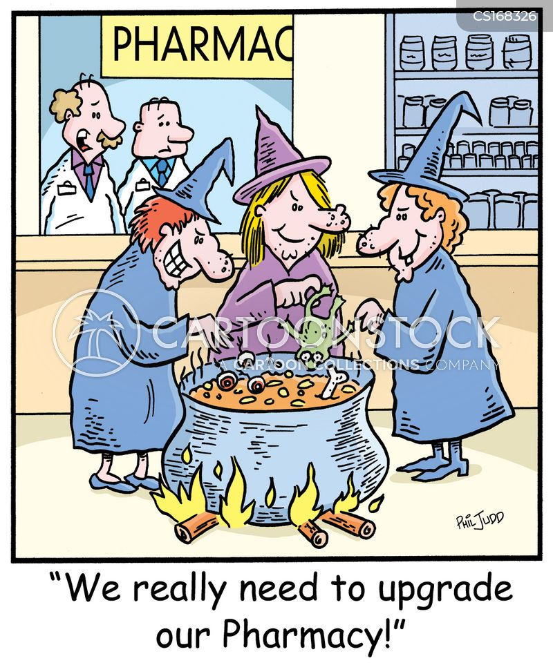 witchcraft cartoon