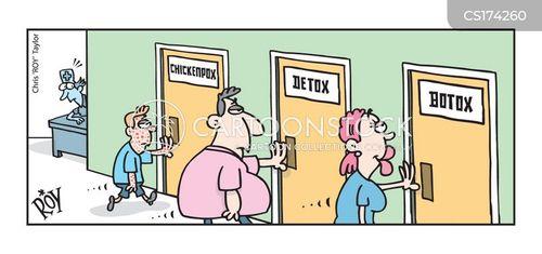 detox cartoon