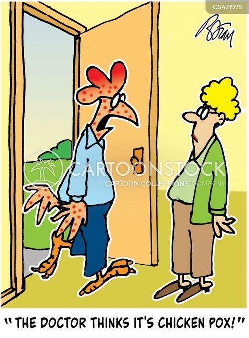 chicken-pox cartoon