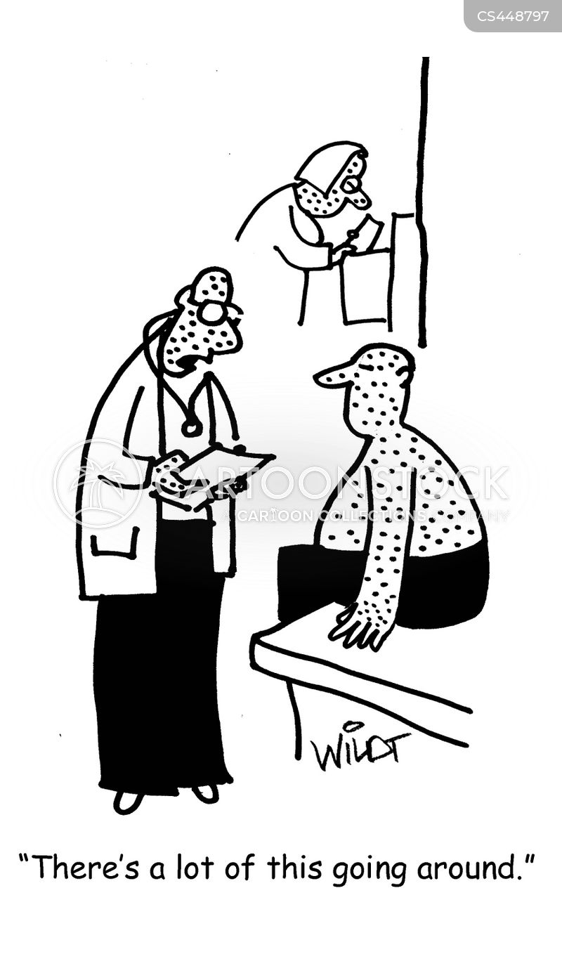 disease outbreaks cartoon