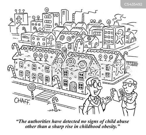 child obesity cartoon