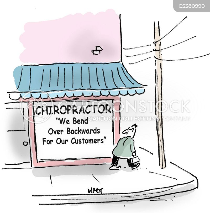 chiropodists cartoon
