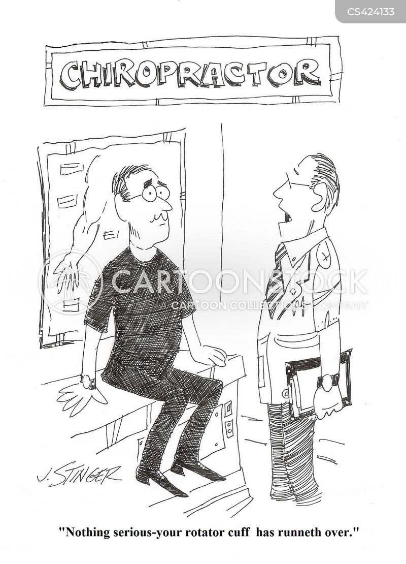 rotator cuff cartoon