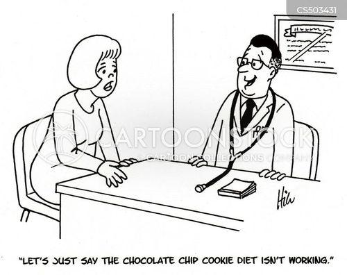 chocolate chip cartoon