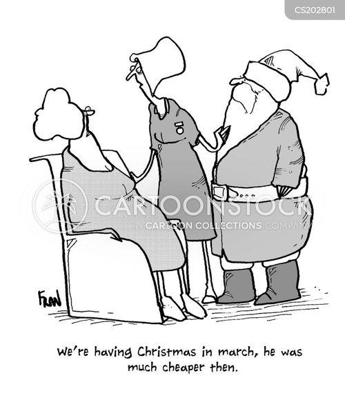 holiday period cartoon