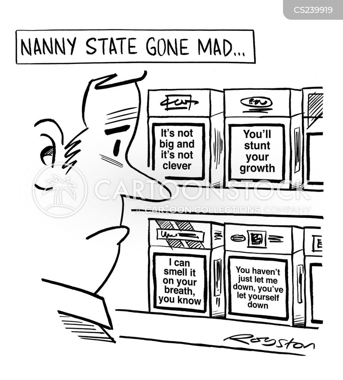 cigs cartoon