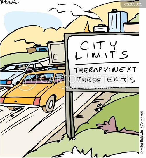 city folk cartoon