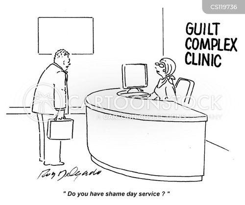 guilt complex cartoon