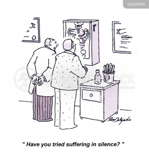 suffer in silence cartoon