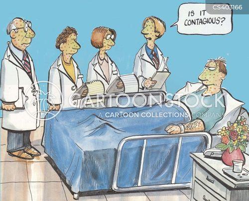 exotic diseases cartoon