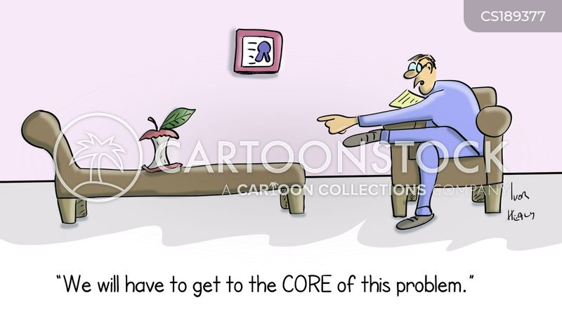 apple core cartoon