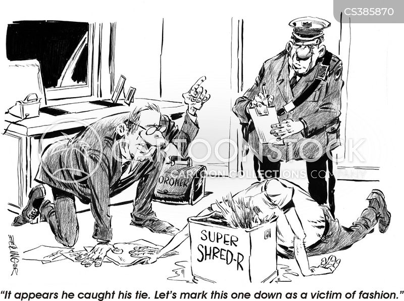 accident at work cartoon