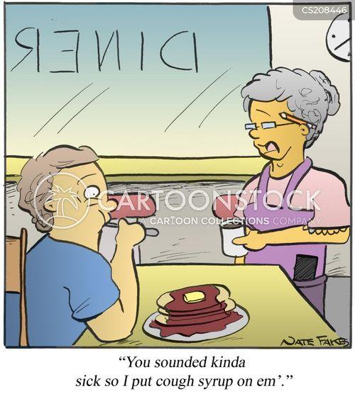 pancakes cartoon