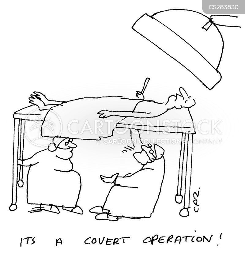 covert operations cartoon