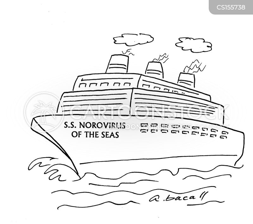 norovirus cartoon