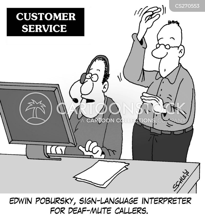 sign languages cartoon
