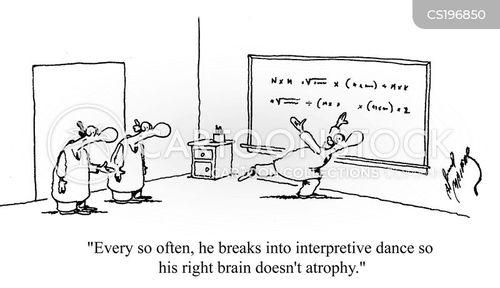 interpretive dance cartoon