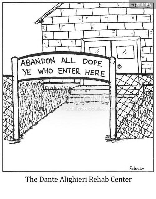 dante alighieri cartoon