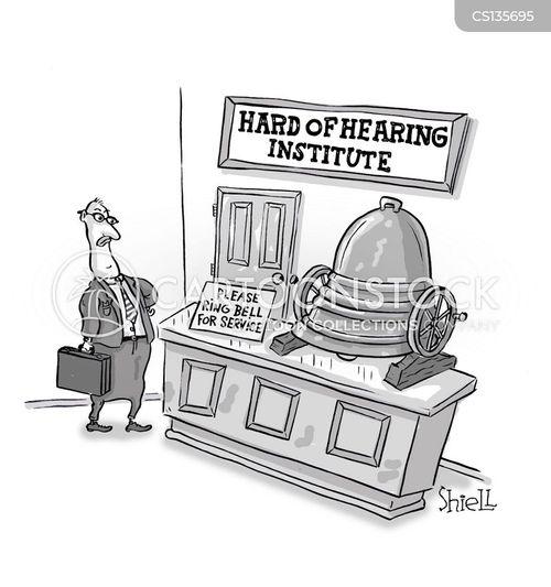 service bells cartoon