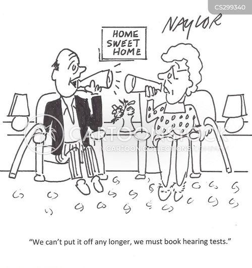 hearing horns cartoon