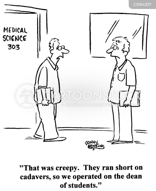 student doctor cartoon