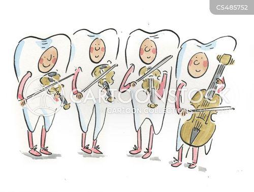 musical quartets cartoon