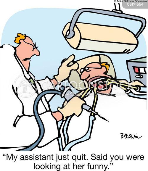 dental hygiene cartoon