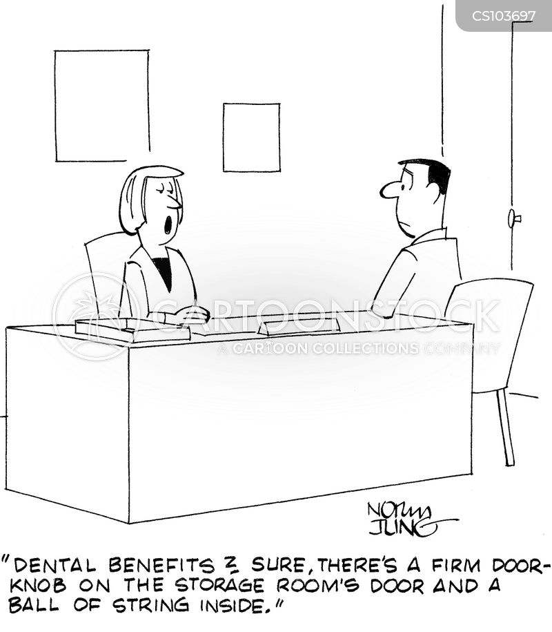 dental benefit cartoon