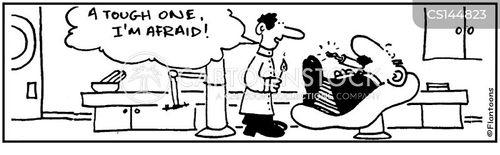dental patients cartoon