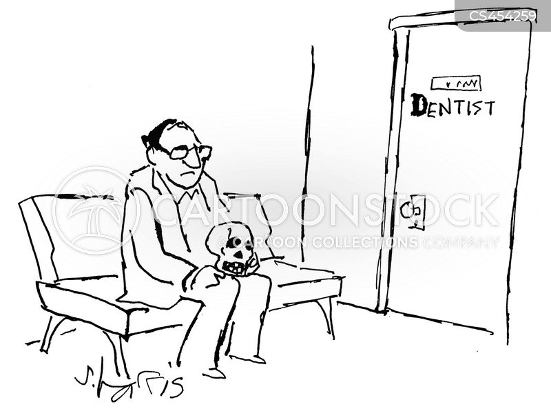 dentist appointments cartoon
