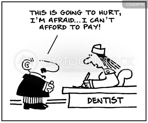 dental bill cartoon
