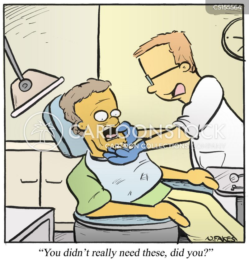 dental procedures cartoon