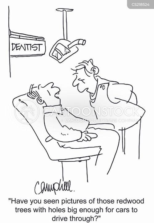 dentist offices cartoon