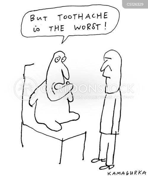 dental nurses cartoon