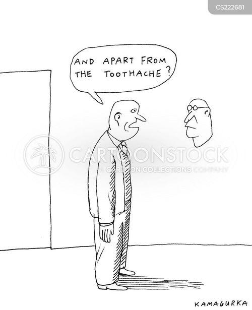 toothache cartoon