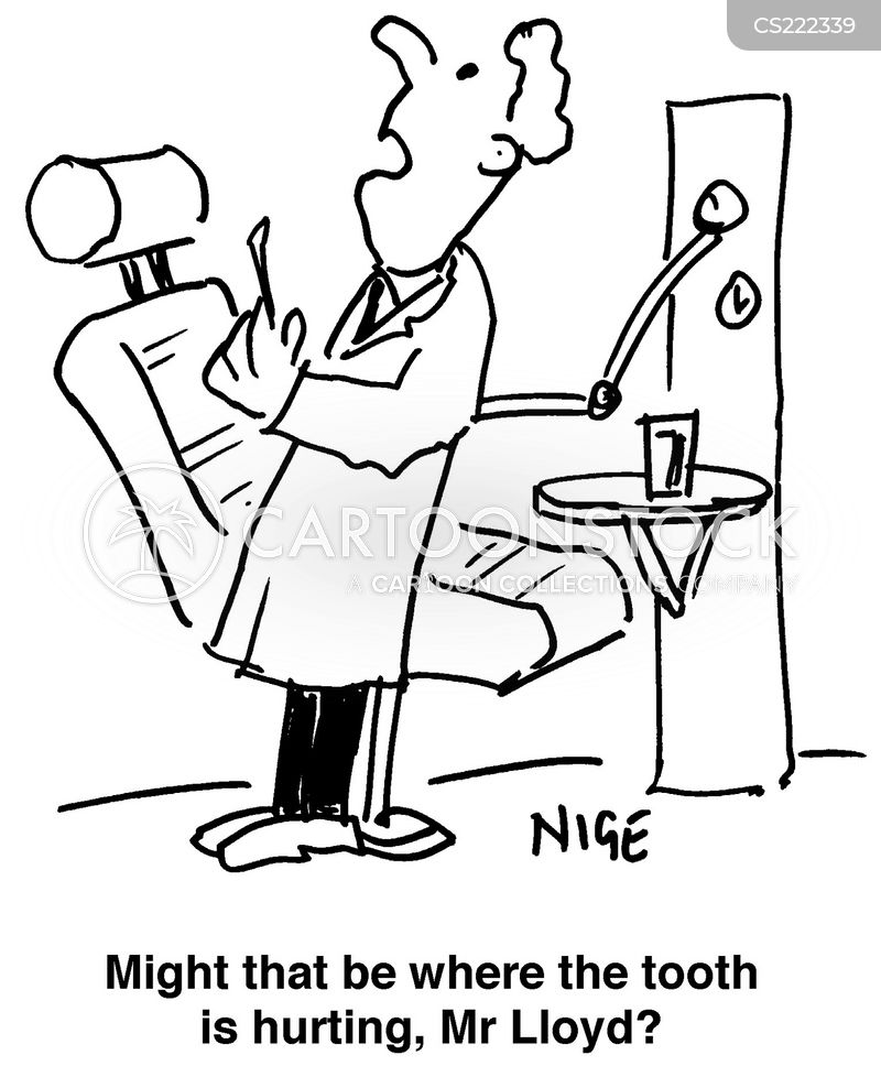 funny sexy toothache cartoons