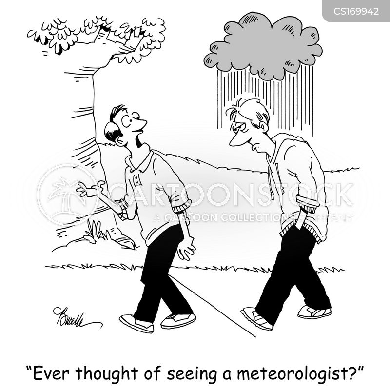 weather forecast cartoon
