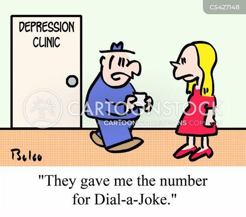 depression clinic cartoon