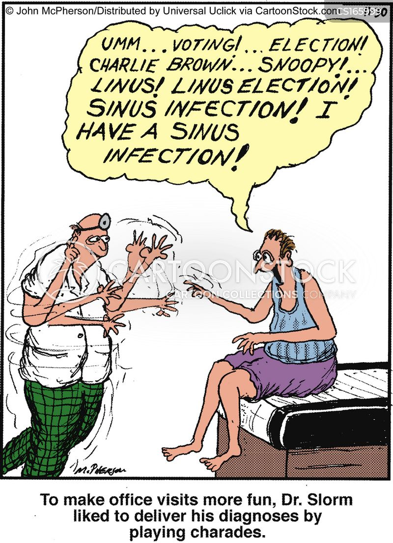 sinus cartoon